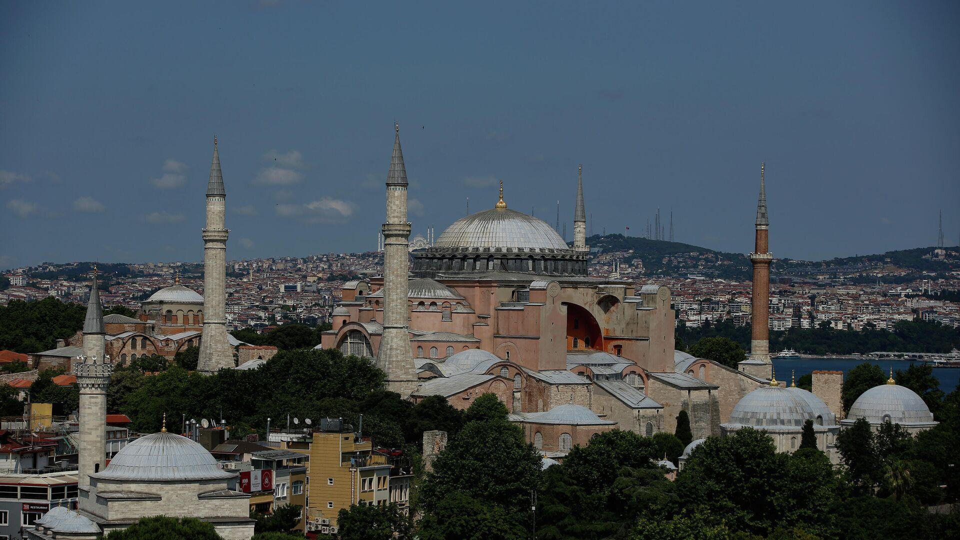 Собор Святой Софии в Стамбуле - РИА Новости, 1920, 05.08.2020