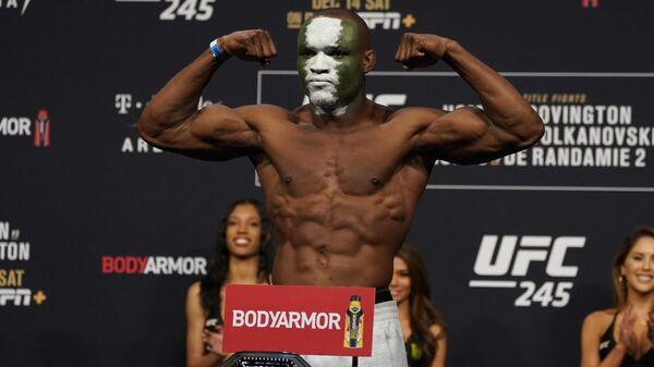 Боец UFC Камару Усман