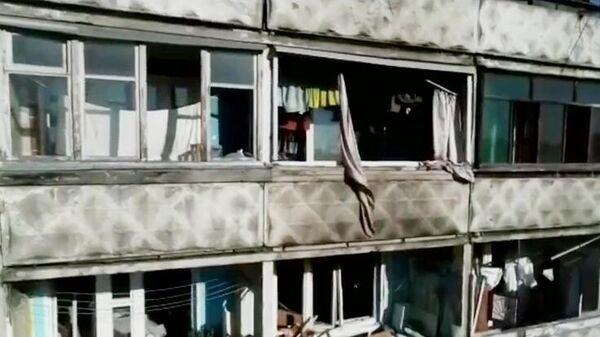 Последствия взрыва бытового газа в многоквартирном доме в Нижним Новгороде
