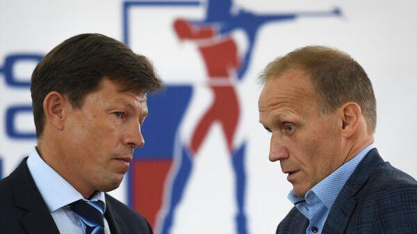 Владимир Драчев (справа) и Виктор Майгуров