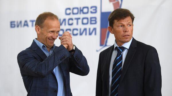Владимир Драчев (слева) и Виктор Майгуров