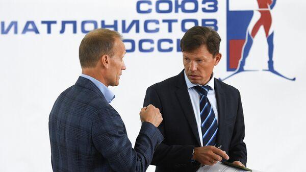 Виктор Майгуров (справа) и Владимир Драчев
