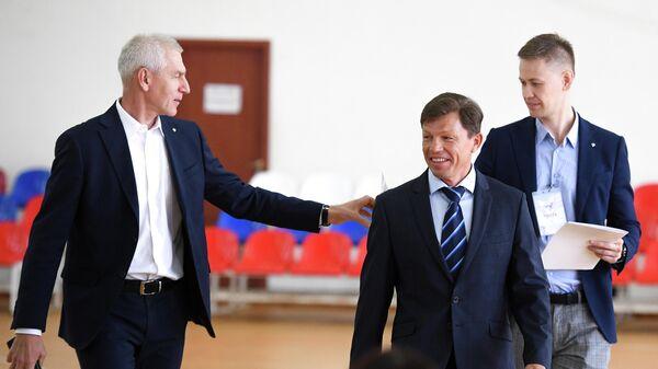 Олег Матыцин и Виктор Майгуров (слева направо)