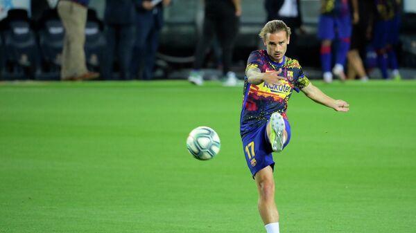 Нападающий ФК Барселона Антуан Гризманн