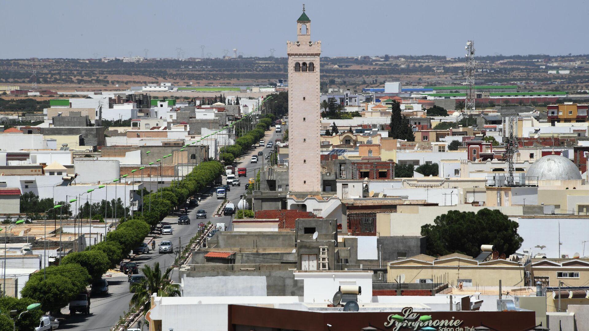 Вид города Эль-Джем в Тунисе с амфитеатра - РИА Новости, 1920, 25.07.2021