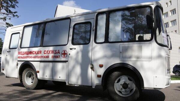 В Забайкалье поступили 15 мобильных ФАПов