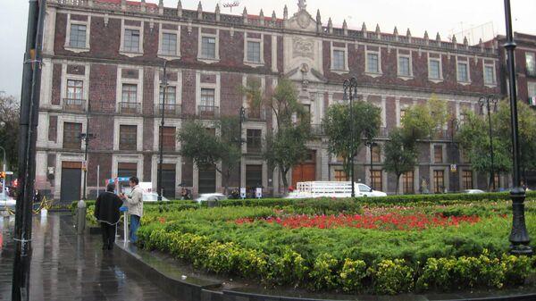 Здание Ломбардного дома Мехико