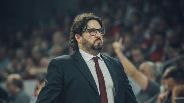 Главный тренер баскетбольного клуба Бавария Андреа Тринкьери