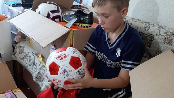11-летний Савва Ярыгин