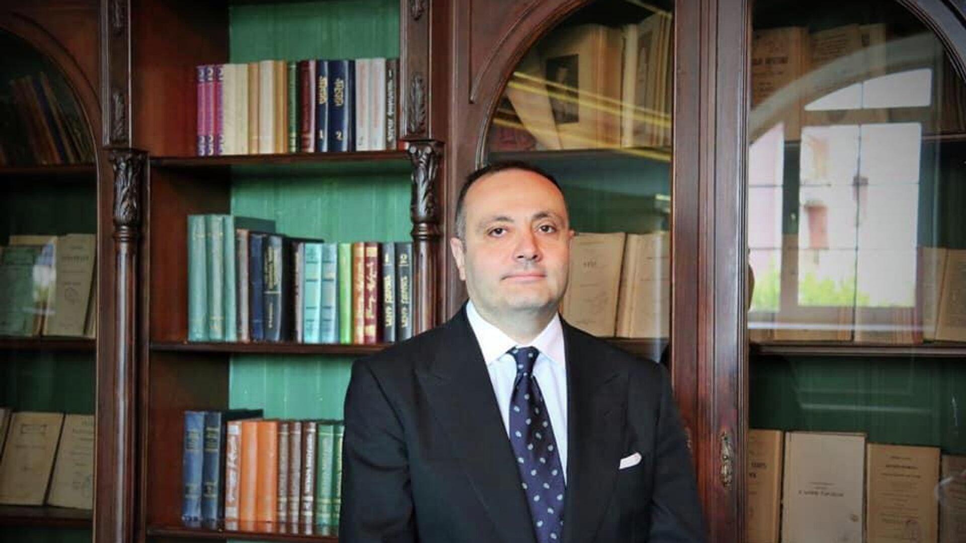 Посол Армении в Москве Вардан Тоганян - РИА Новости, 1920, 28.09.2020