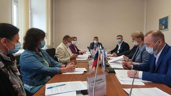 Заседание комитета областного Собрания по лесопромышленному комплексу, природопользованию и экологии