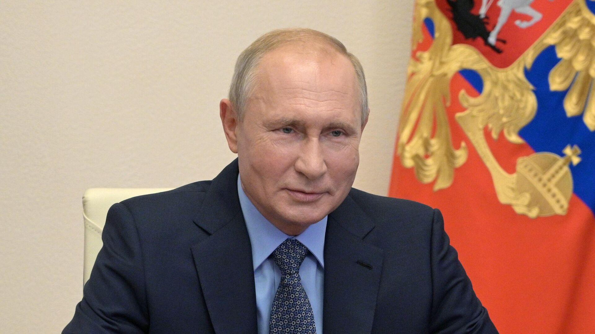 Президент РФ Владимир Путин проводит оперативное совещание с постоянными членами Совета безопасности РФ - РИА Новости, 1920, 29.10.2020