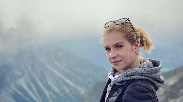 Фигуристка Екатерина Александровская