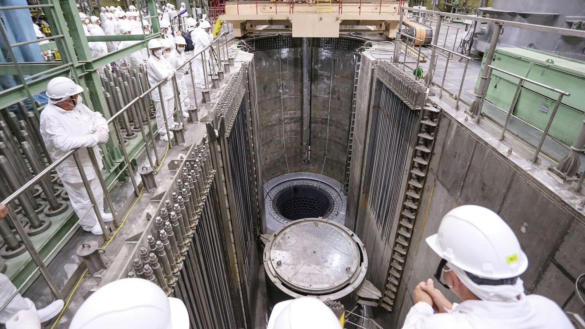 На Ленинградской АЭС стартовал физический пуск нового энергоблока с реактором ВВЭР-1200 - РИА Новости, 1920, 31.08.2020