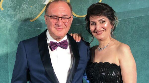 Владельцы вокальной студии в Москве Аделина и Манвел Григорян