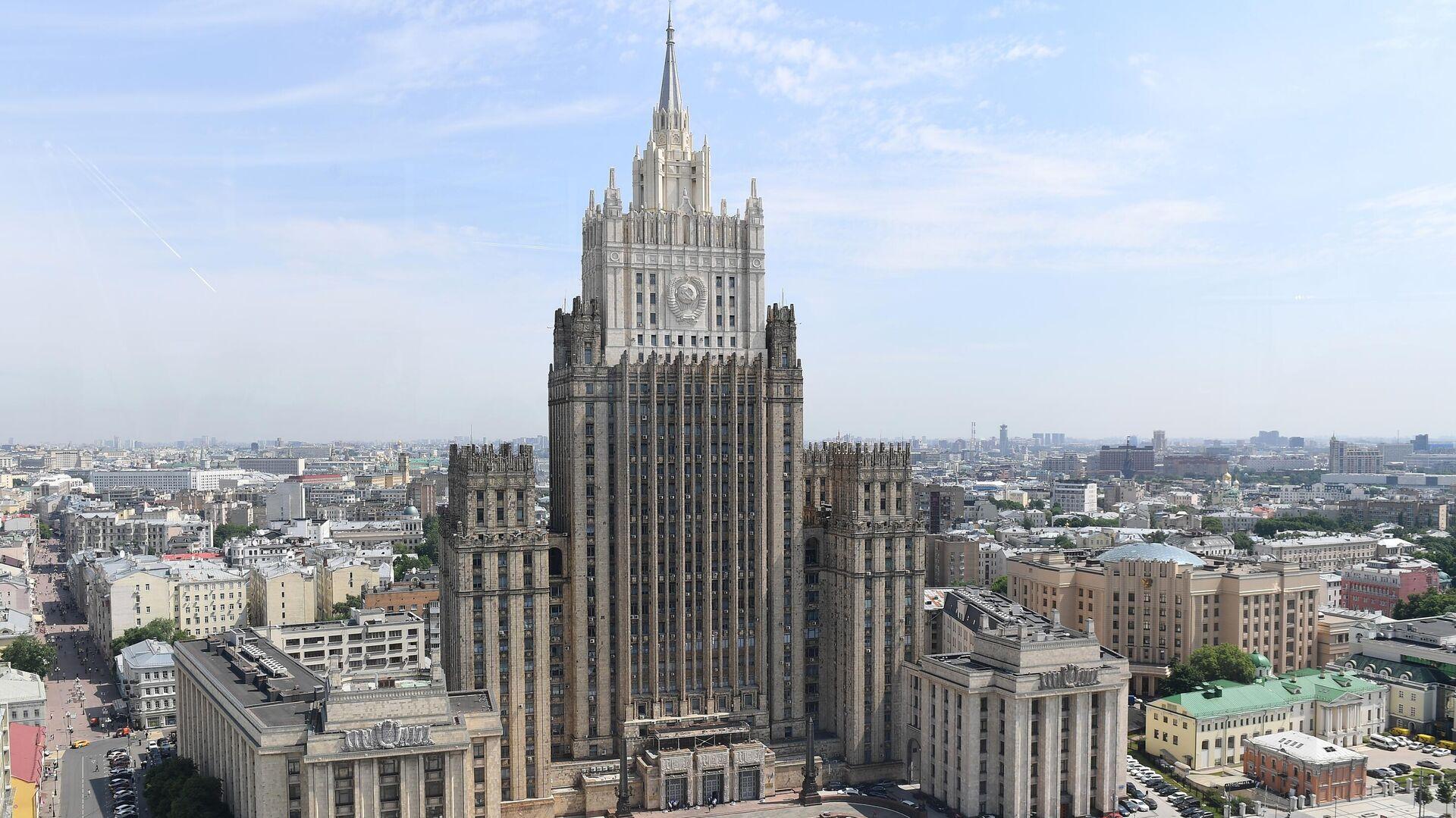 Здание Министерства иностранных дел России - РИА Новости, 1920, 03.09.2020