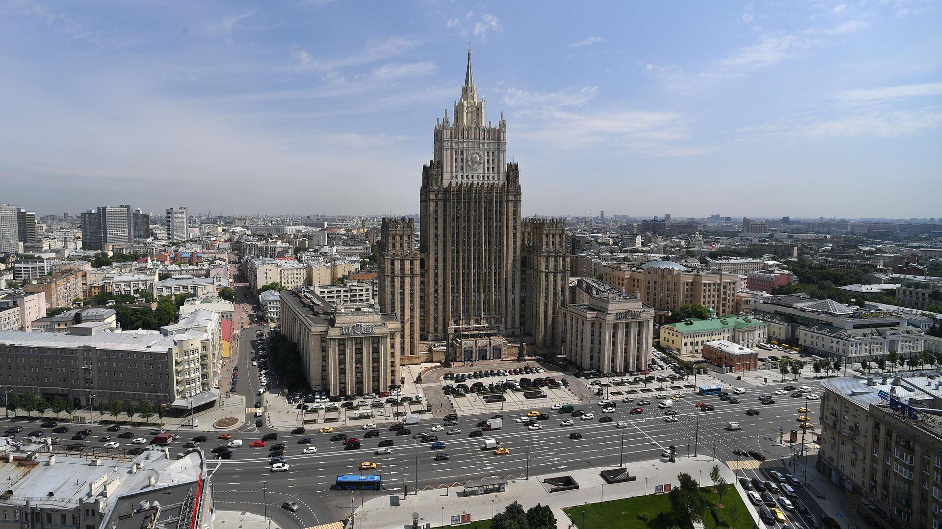 Здание Министерства иностранных дел России - РИА Новости, 1920, 27.11.2020