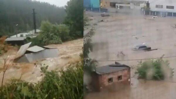 Город в Свердловской области чуть не смыло водой