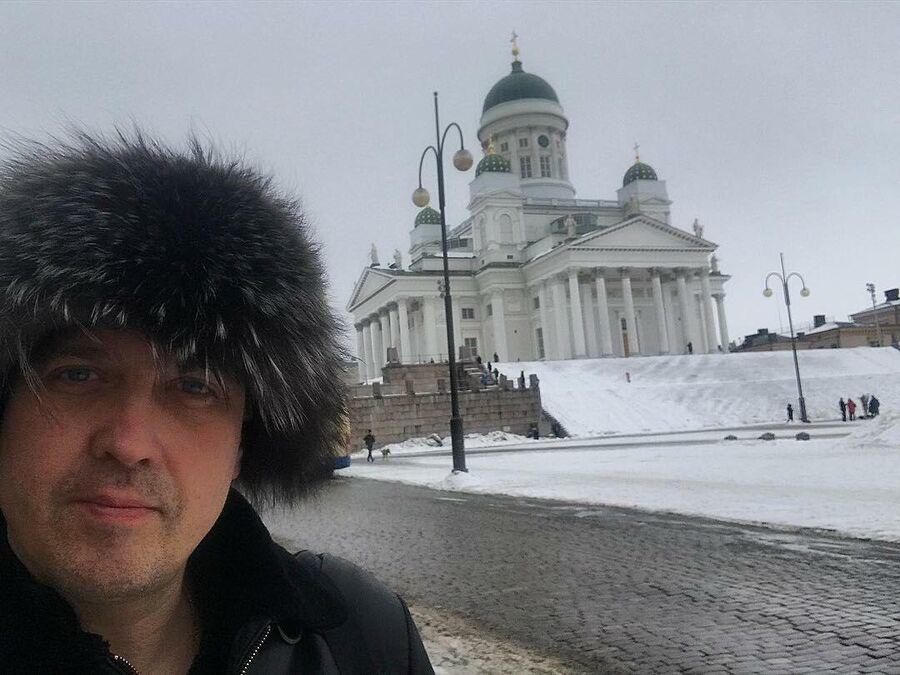 Актер Денис Матросов в Хельсинки