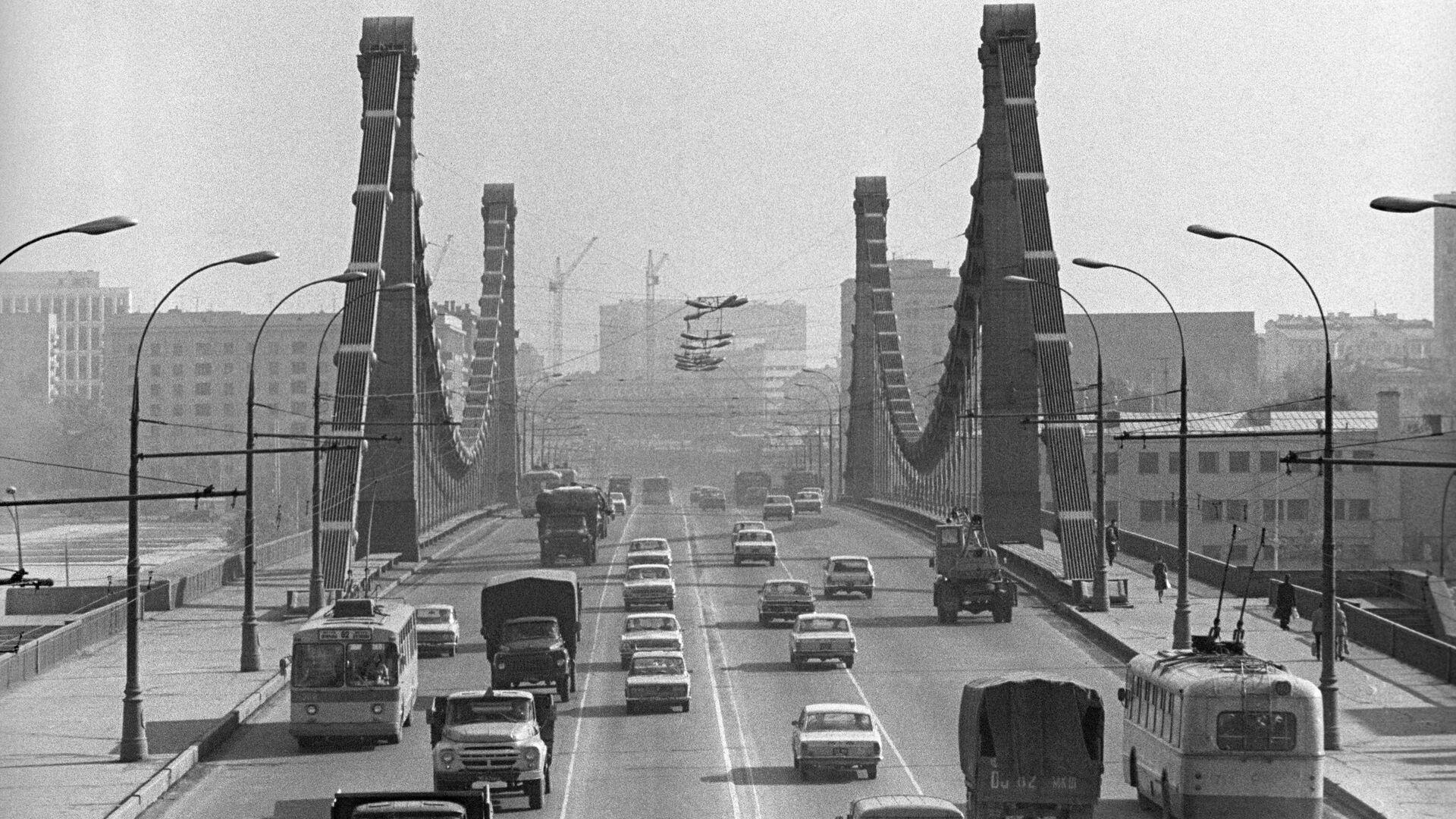 Крымский мост в Москве - РИА Новости, 1920, 21.09.2020