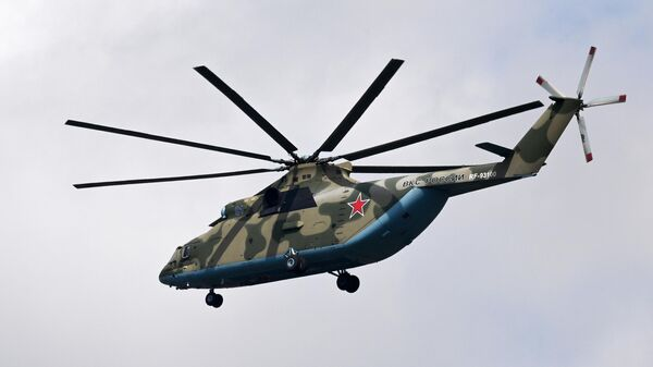 Тяжелый вертолет Ми-26