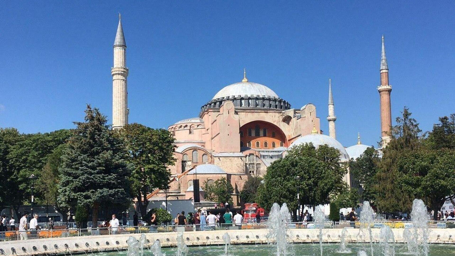Собор Святой Софии в Стамбуле - РИА Новости, 1920, 07.01.2021