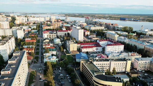 Вид на Архангельск