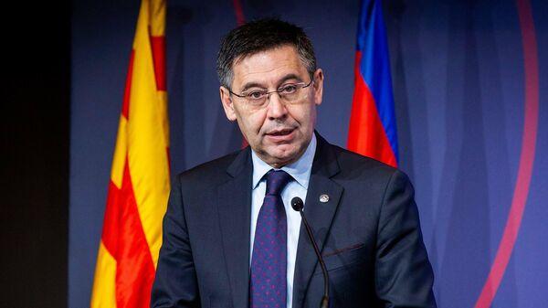 Президент Барселоны Жозеп Мария Бартомеу