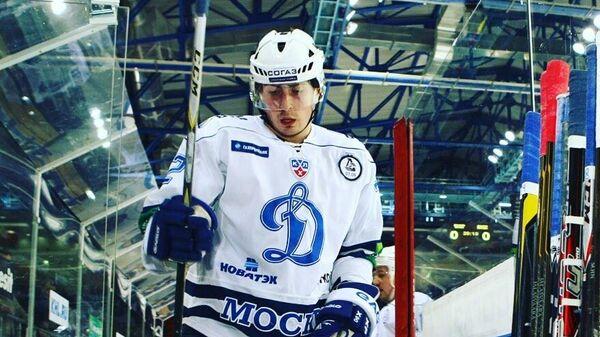 Хоккеист Сергей Коньков