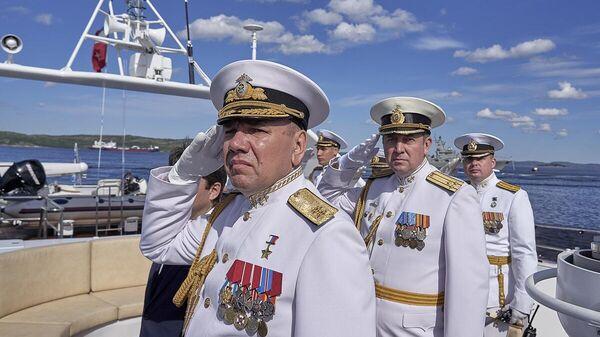 День ВМФ отпраздновали в главной базе Северного флота Североморске