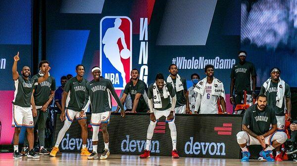 Баскетболисты Оклахома-Сити