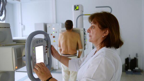 Кабинет рентгена в Институте диабета ФГБУ НМИЦ эндокринологии