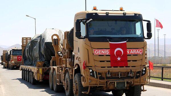 Турецкие военные, прибывшие на учения в Азербайджан