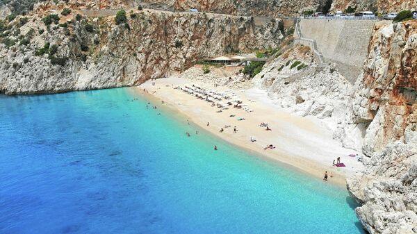 Пляж Капуташ, Анталия, Турция