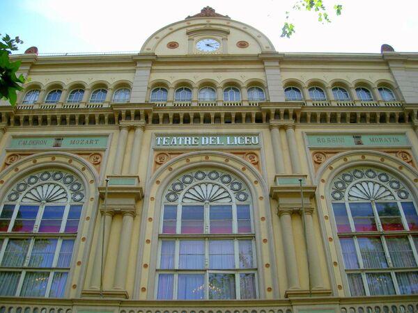 Оперный театр Барселоны