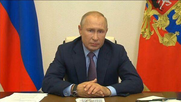 Обстановка стабилизируется – Путин оценил ситуацию с COVID-19 по стране