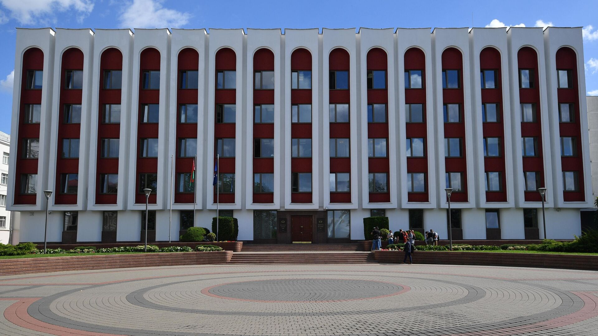 Здание МИД Белоруссии в Минске - РИА Новости, 1920, 24.09.2020