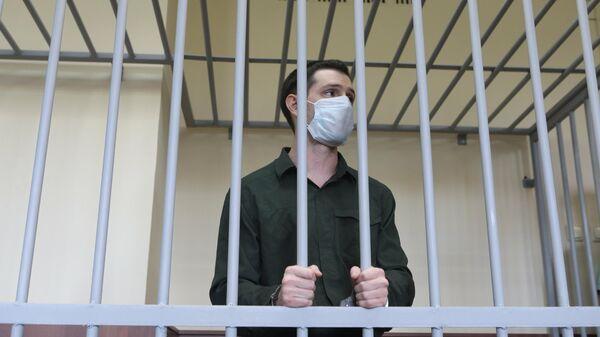 Тревор Рид в Головинском суде Москвы