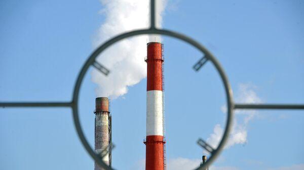 Трубы на производстве в Иркутской области
