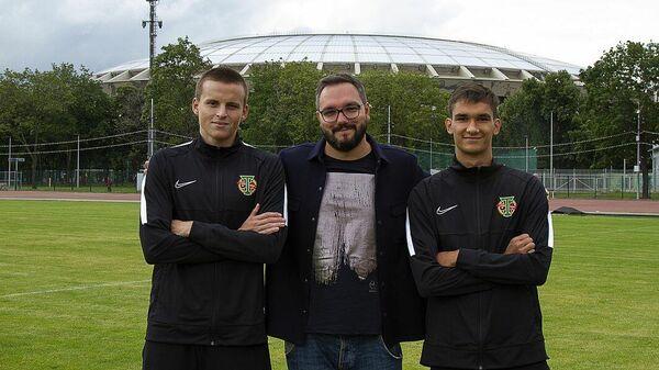 Новички Торпедо Андрей Евдокимов (слева) и Егор Прошкин