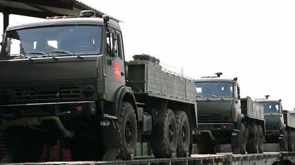 Военные по поручению Путина направляются в Усолье-Сибирское