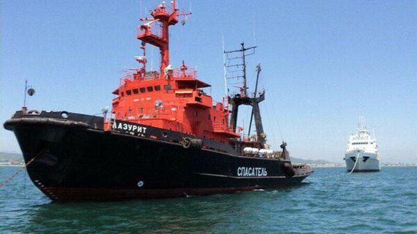 Морское спасательное судно Лазурит
