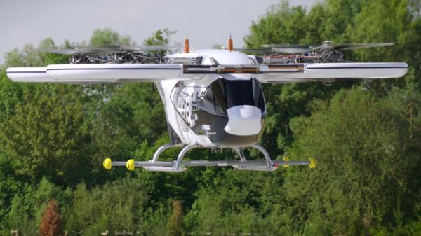 В Германии испытали летающее такси
