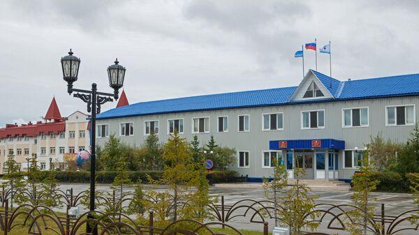 Здание администрации в селе Яр-Сале Ямальского района Ямало-Ненецкого автономного округа
