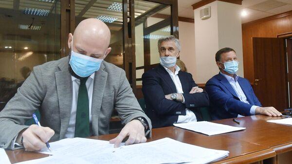 Основатель фонда Baring Vostok Майкл Калви в Мосгорсуде