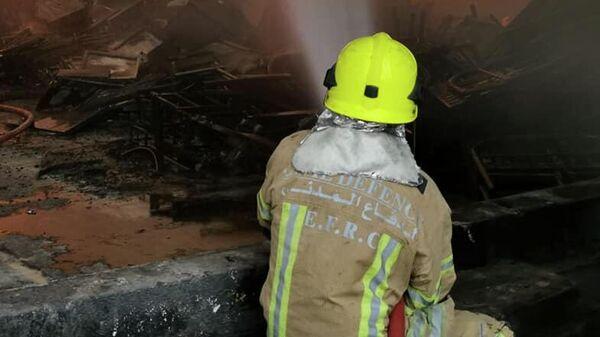 Пожарный в ОАЭ