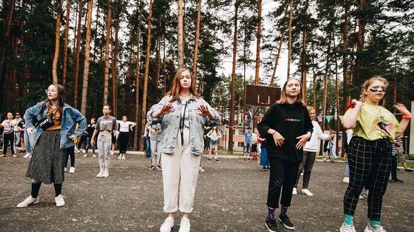 Подростки в детском лагере Екатеринбургского еврейского культурного центра Менора – Menora Camps