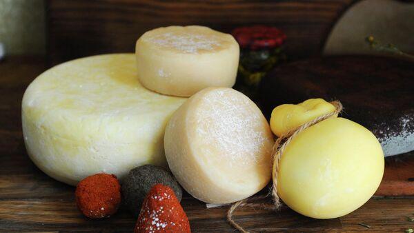 Сыр одного из фермерских хозяйств