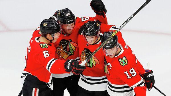 Хоккеисты клуба НХЛ Чикаго Блэкхоукс
