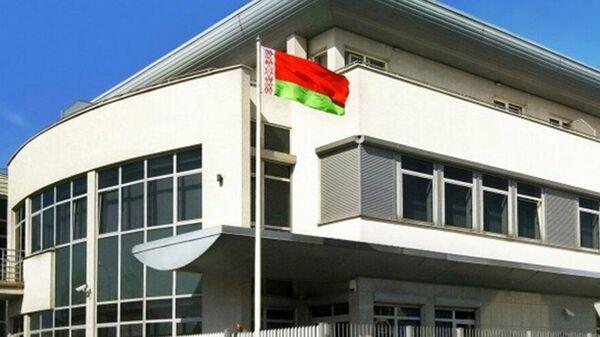Здание посольства Белоруссии в Варшаве